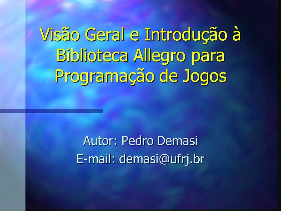 Autor: Pedro Demasi E-mail: demasi@ufrj.br