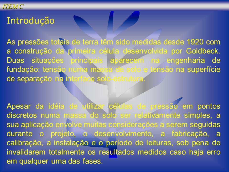 ITEM C Introdução.