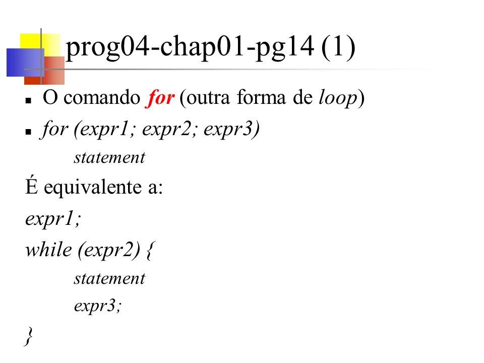 prog04-chap01-pg14 (1) O comando for (outra forma de loop)