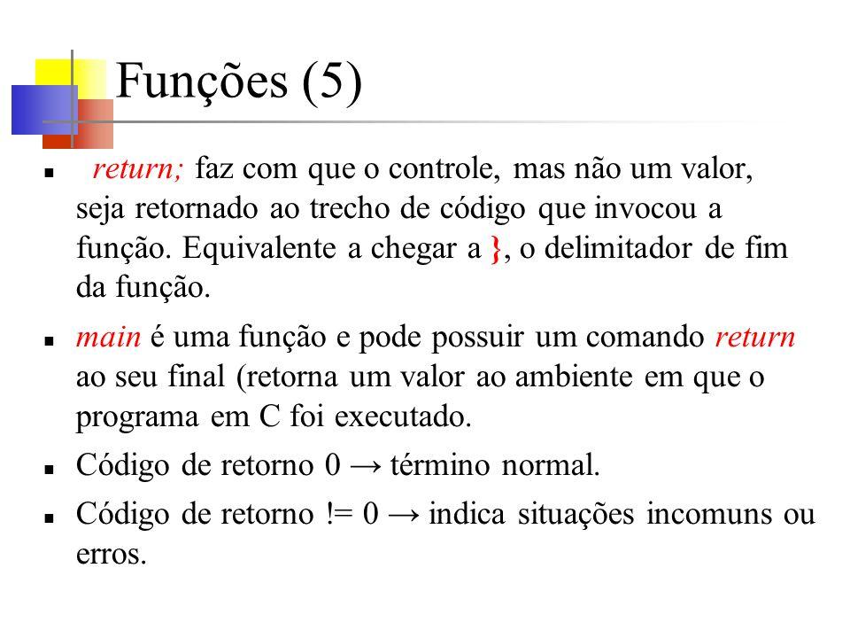 Funções (5)