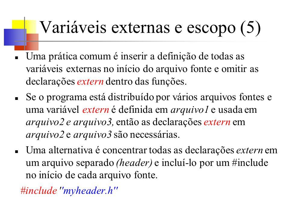 Variáveis externas e escopo (5)
