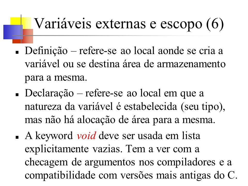 Variáveis externas e escopo (6)