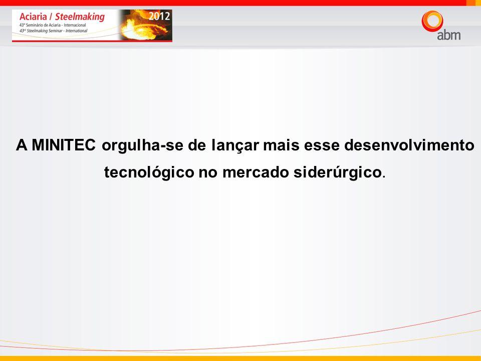 24/03/2017 A MINITEC orgulha-se de lançar mais esse desenvolvimento tecnológico no mercado siderúrgico.