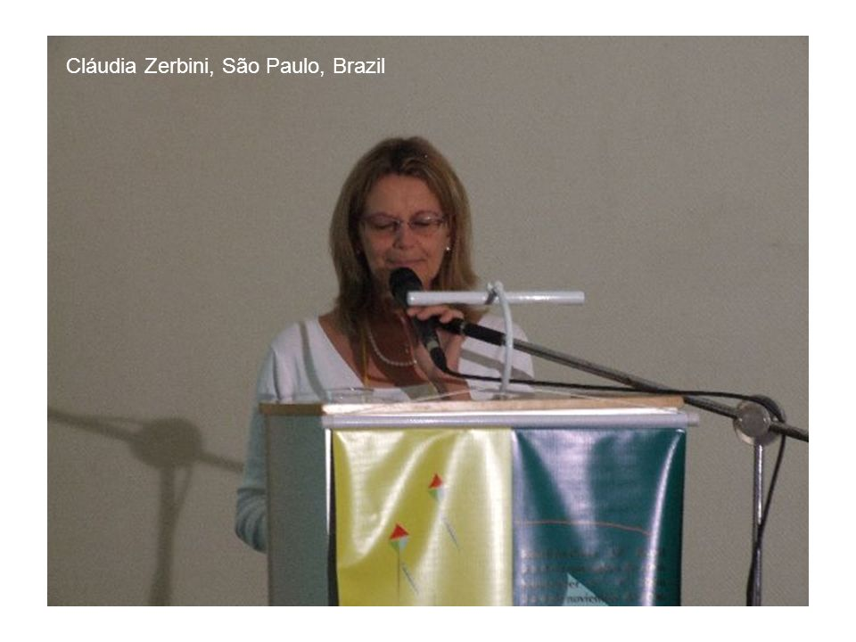 Cláudia Zerbini, São Paulo, Brazil