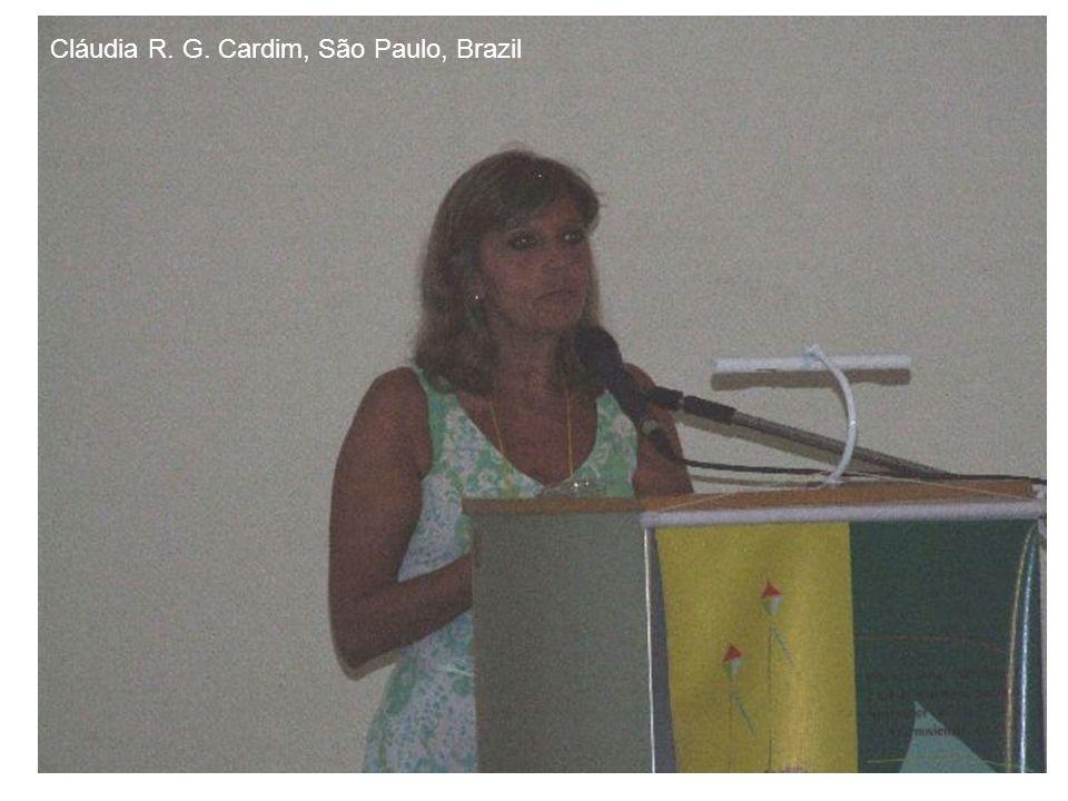 Cláudia R. G. Cardim, São Paulo, Brazil