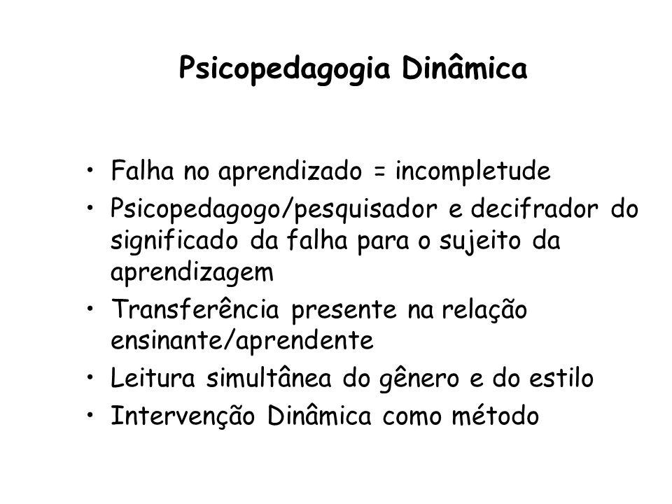 Psicopedagogia Dinâmica
