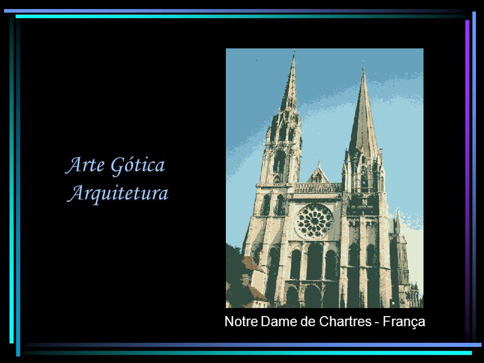 Arte Gótica Arquitetura