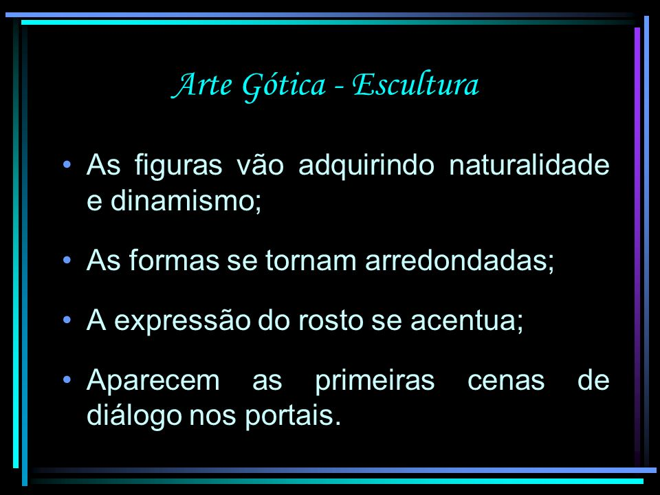 Arte Gótica - Escultura