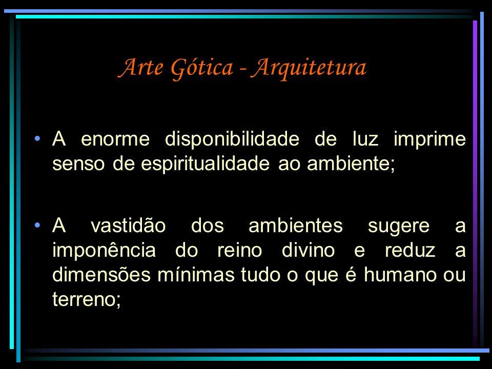 Arte Gótica - Arquitetura