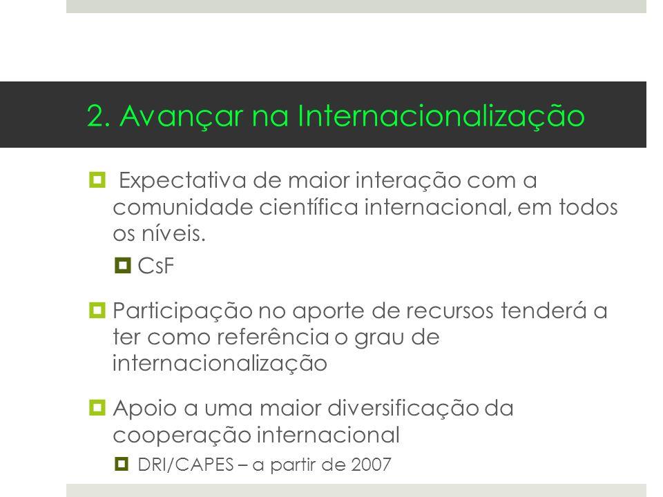 2. Avançar na Internacionalização