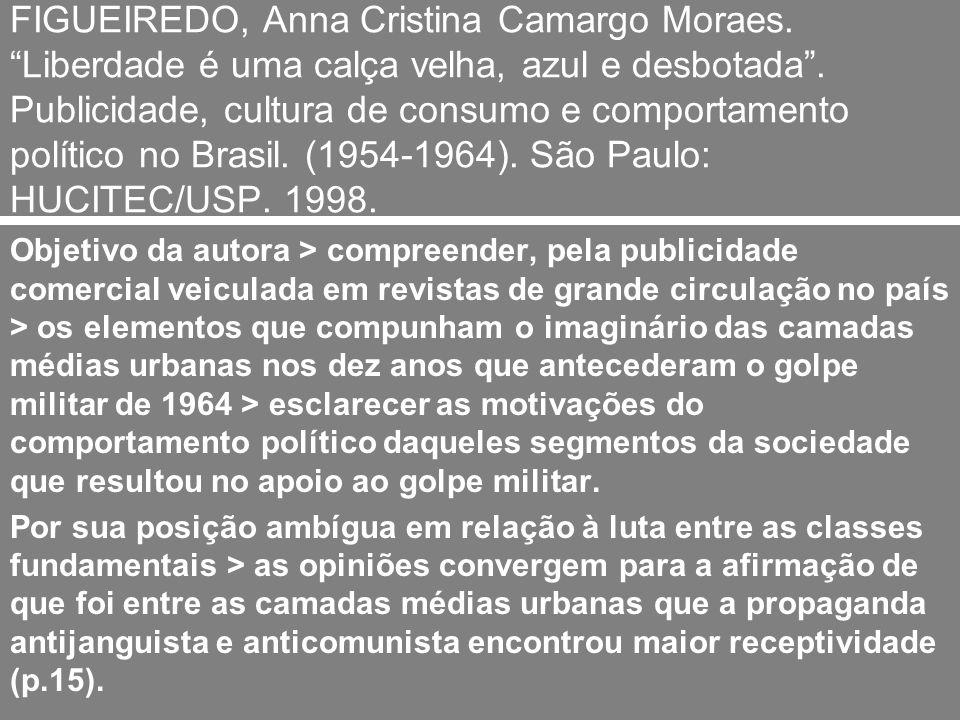 FIGUEIREDO, Anna Cristina Camargo Moraes