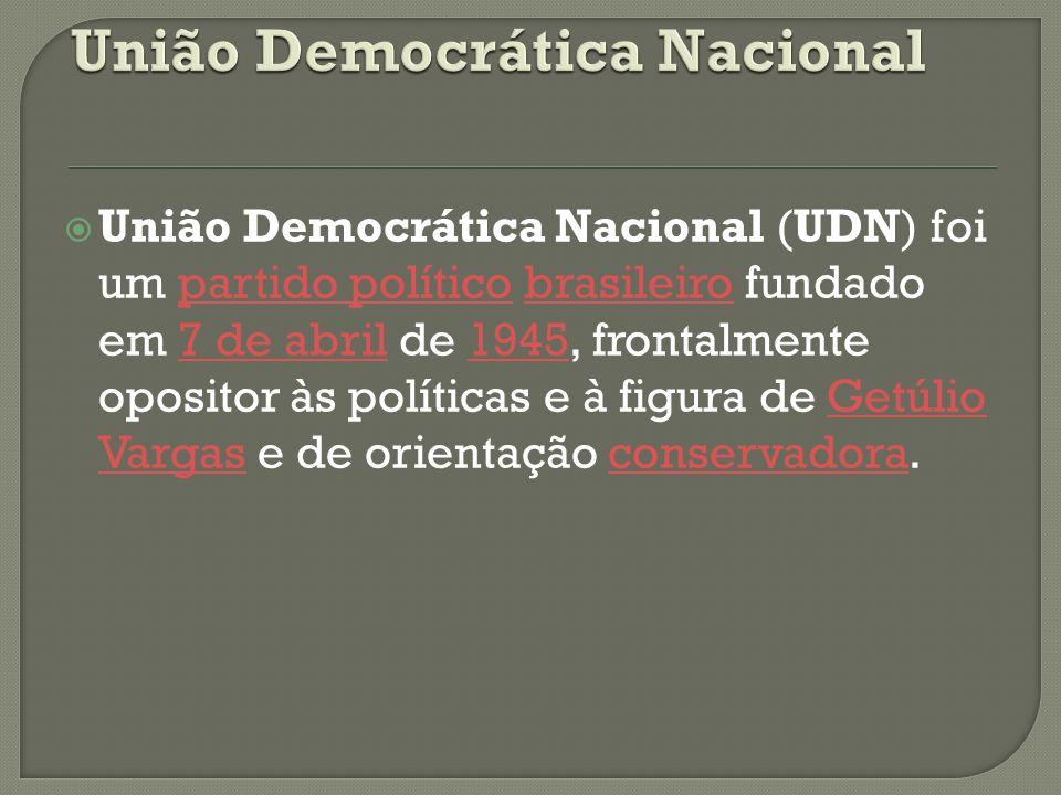 União Democrática Nacional