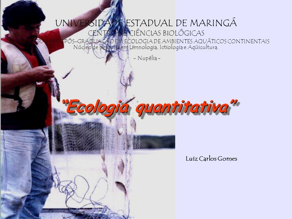 Ecologia quantitativa