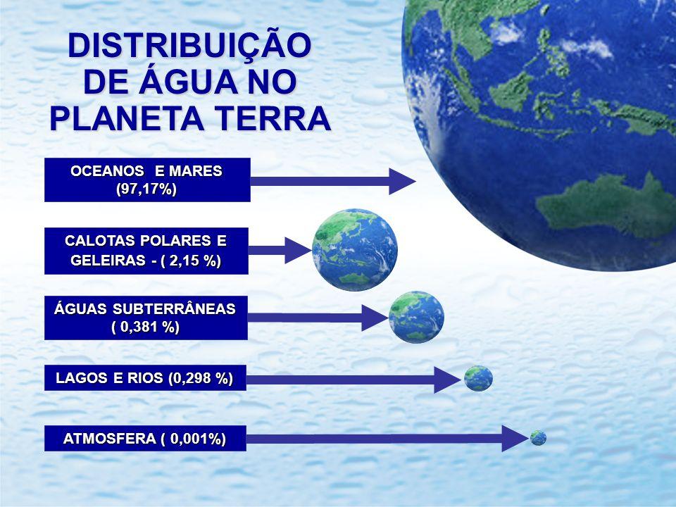 CALOTAS POLARES E GELEIRAS - ( 2,15 %)