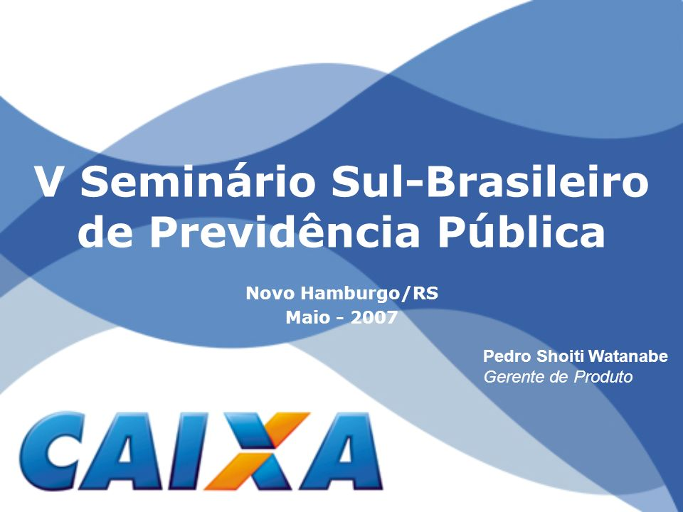 V Seminário Sul-Brasileiro de Previdência Pública