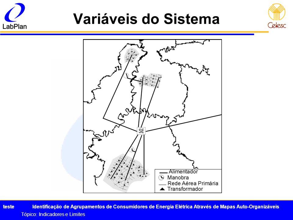 Variáveis do Sistema Tópico: Indicadores e Limites