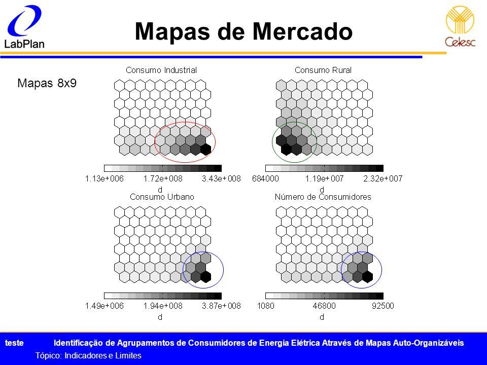 Mapas de Mercado Mapas 8x9 Tópico: Indicadores e Limites