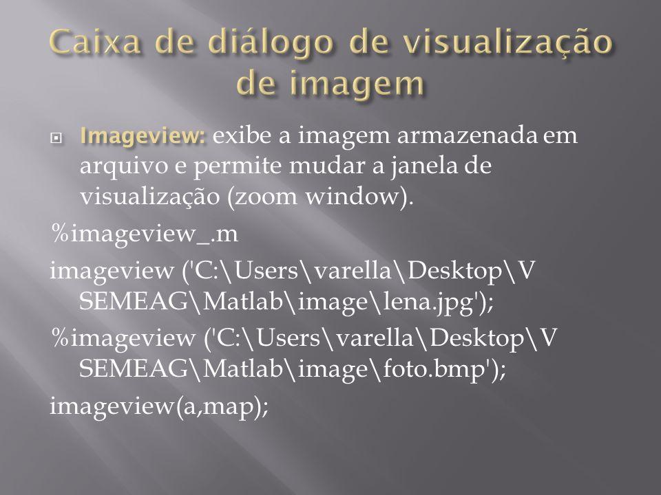 Caixa de diálogo de visualização de imagem