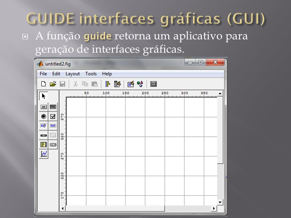 GUIDE interfaces gráficas (GUI)
