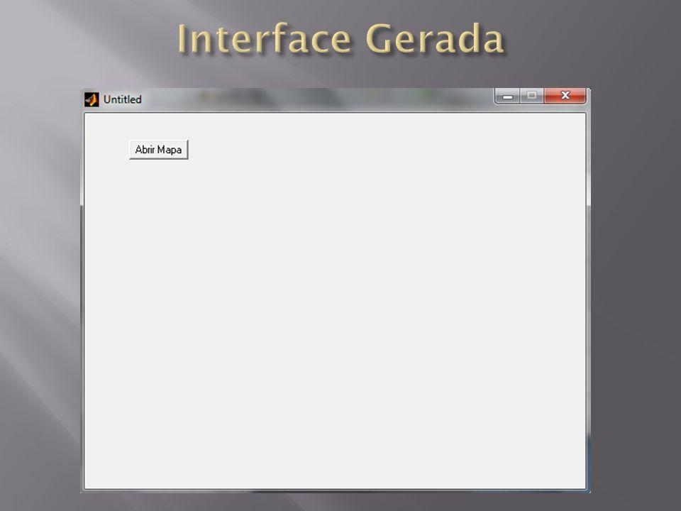 Interface Gerada
