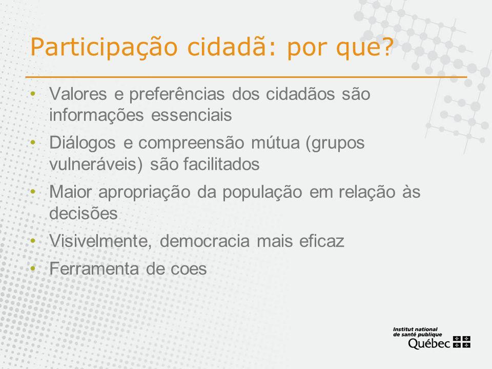 Participação cidadã: por que