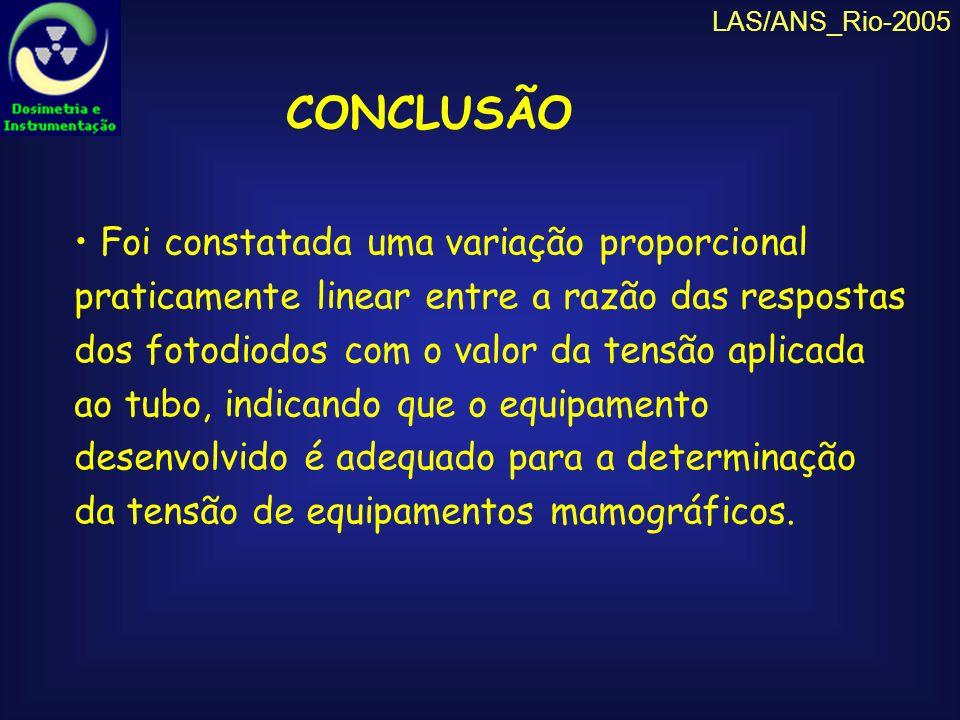 LAS/ANS_Rio-2005 CONCLUSÃO.