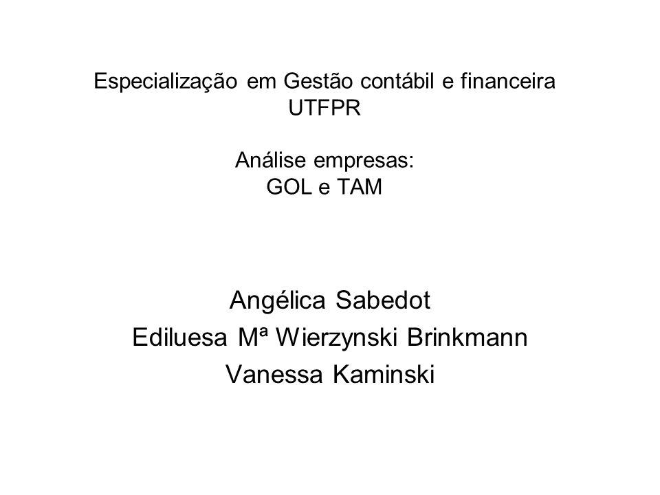 Angélica Sabedot Ediluesa Mª Wierzynski Brinkmann Vanessa Kaminski