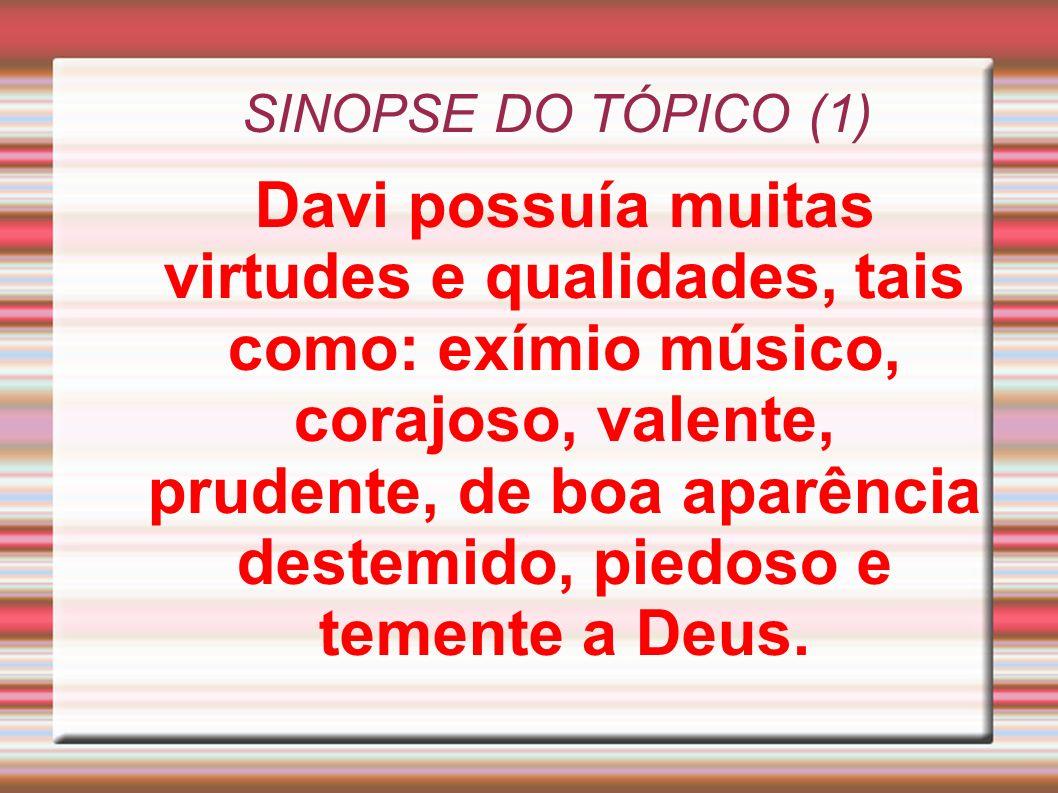 SINOPSE DO TÓPICO (1)