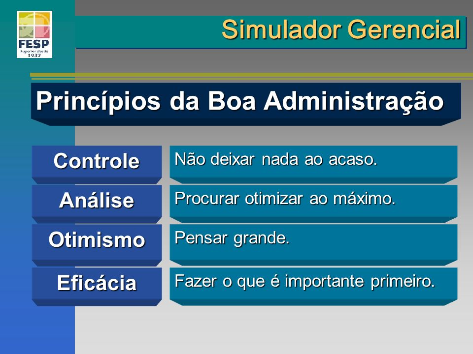Princípios da Boa Administração
