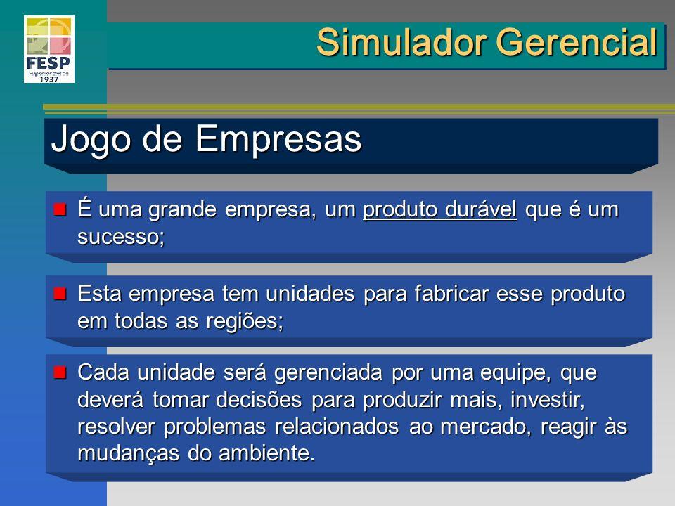 Simulador Gerencial Jogo de Empresas