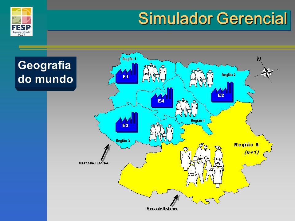 Simulador Gerencial Geografia do mundo
