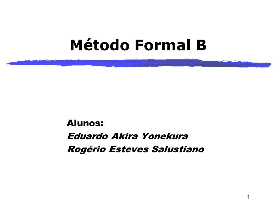 Alunos: Eduardo Akira Yonekura Rogério Esteves Salustiano