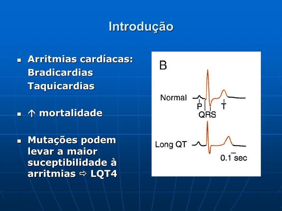 Introdução Arritmias cardíacas: Bradicardias Taquicardias