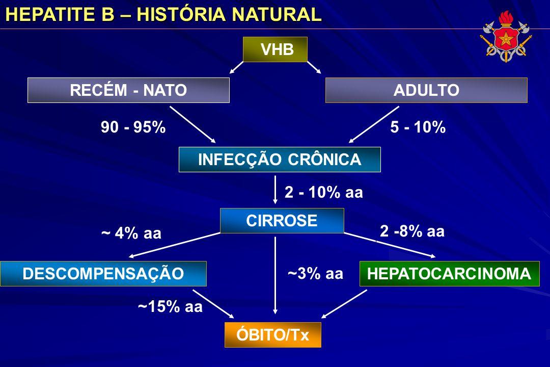 HEPATITE B – HISTÓRIA NATURAL