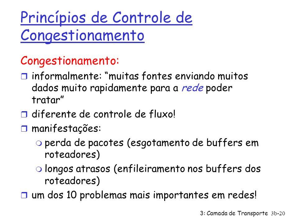 Princípios de Controle de Congestionamento