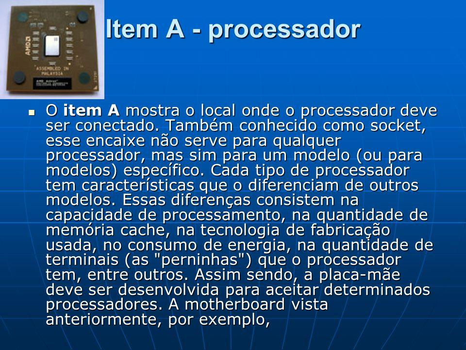 Item A - processador