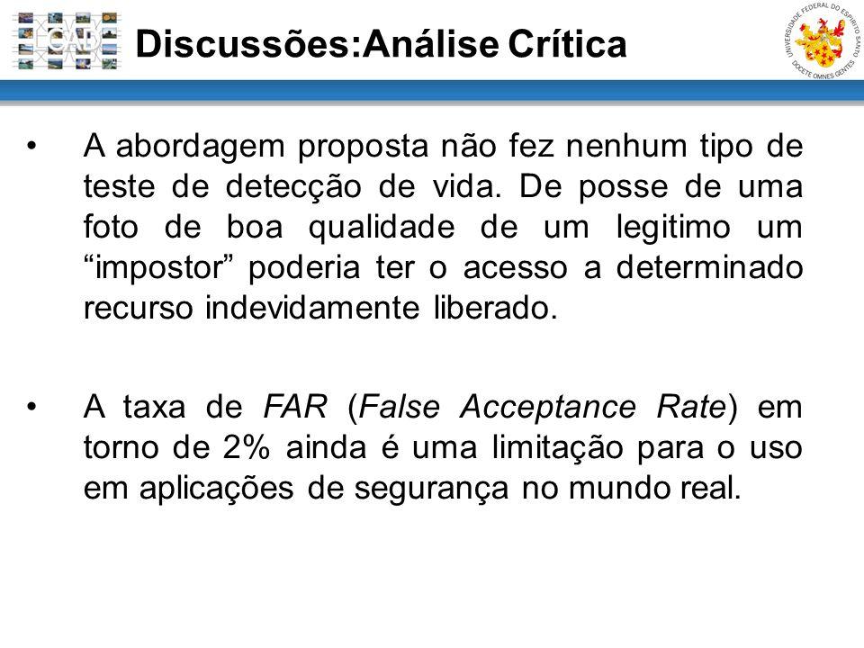 Discussões:Análise Crítica