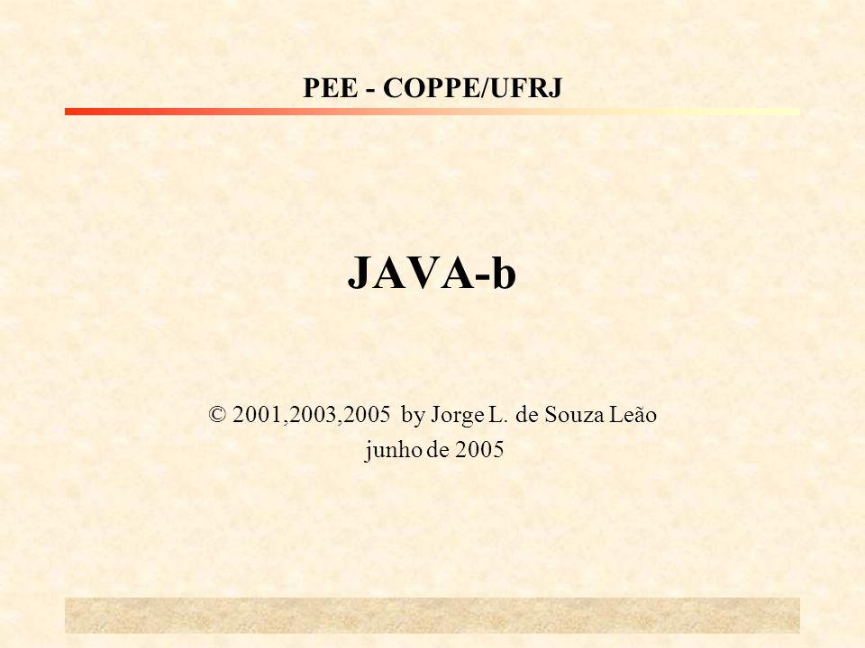 © 2001,2003,2005 by Jorge L. de Souza Leão junho de 2005