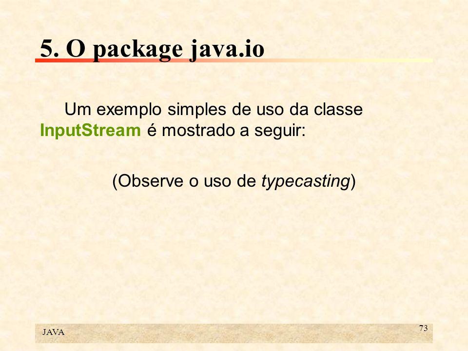 (Observe o uso de typecasting)