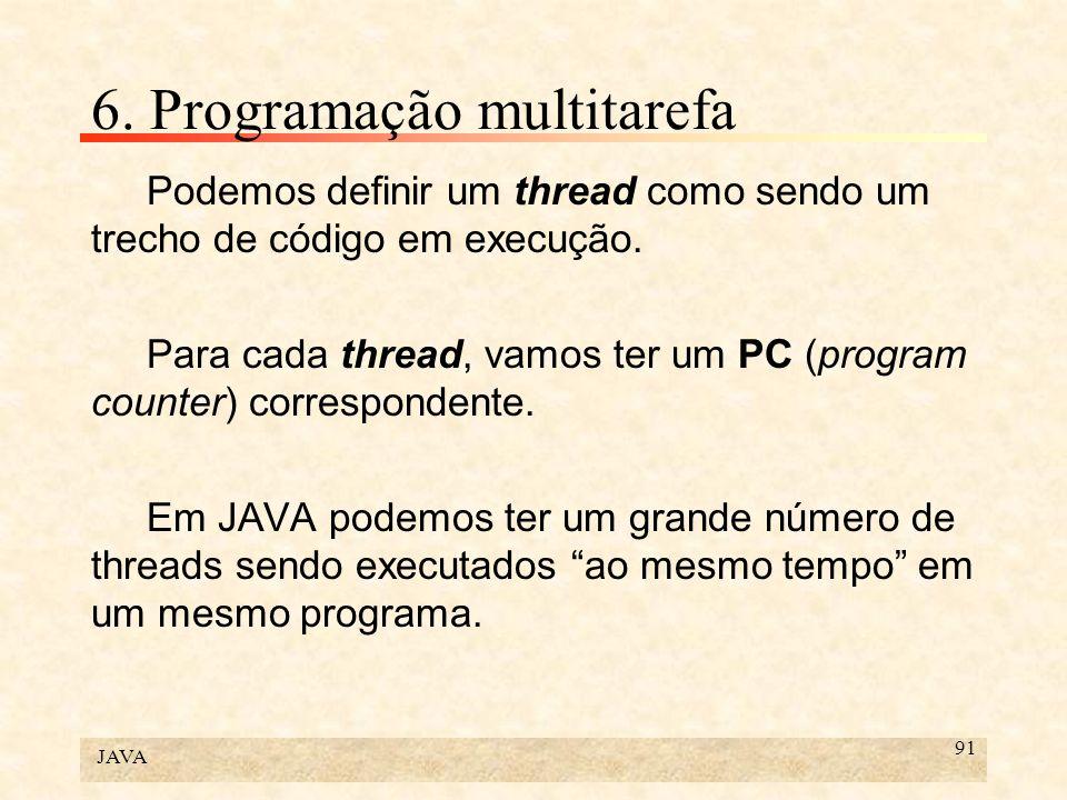6. Programação multitarefa