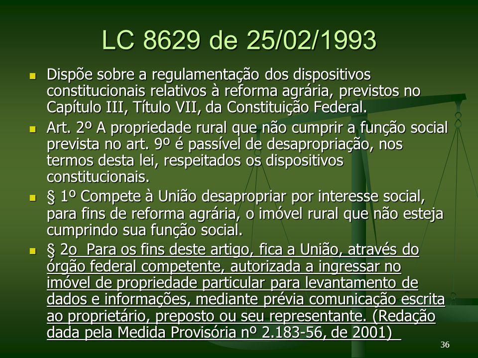LC 8629 de 25/02/1993