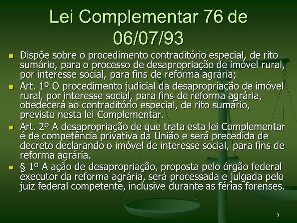 Lei Complementar 76 de 06/07/93