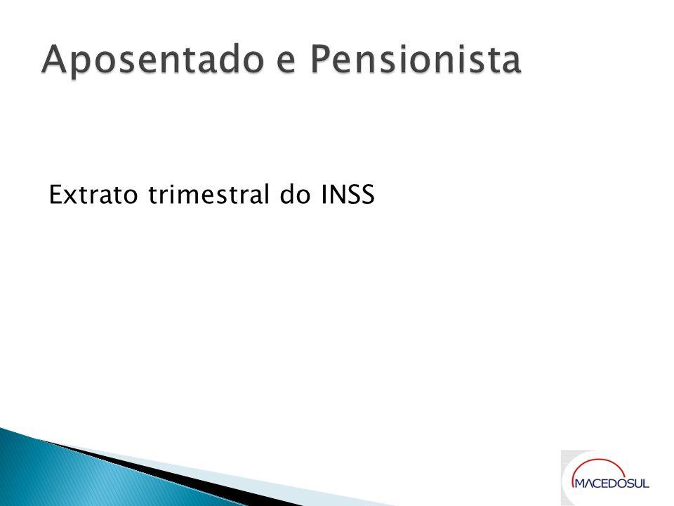 Aposentado e Pensionista