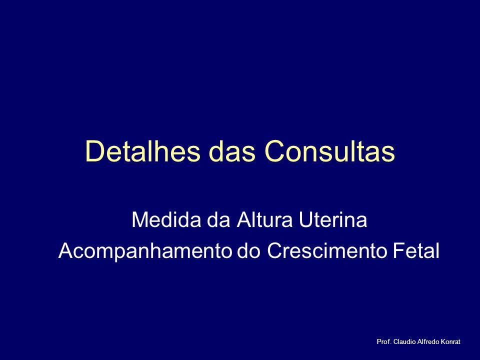 Detalhes das Consultas