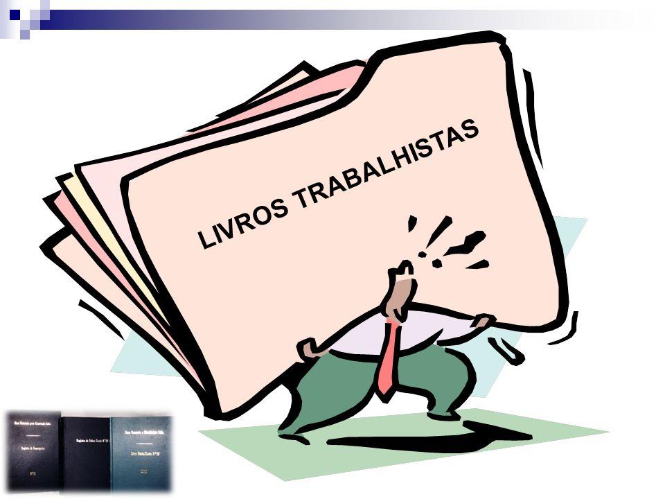 LIVROS TRABALHISTAS