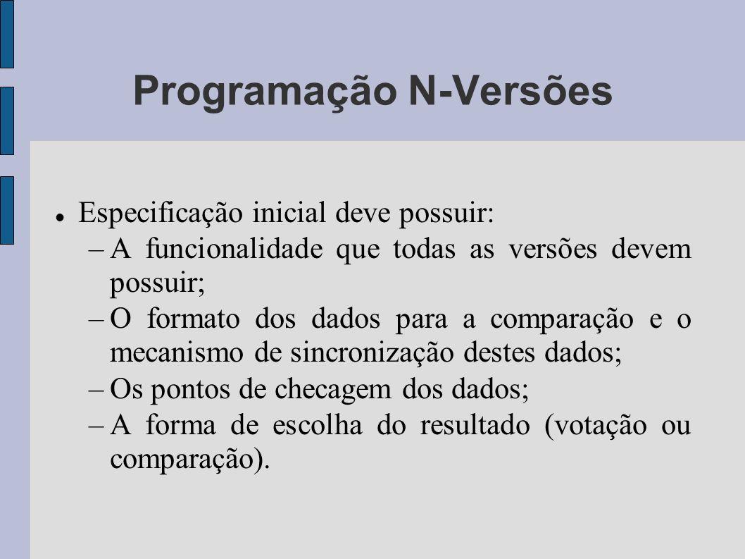 Programação N-Versões