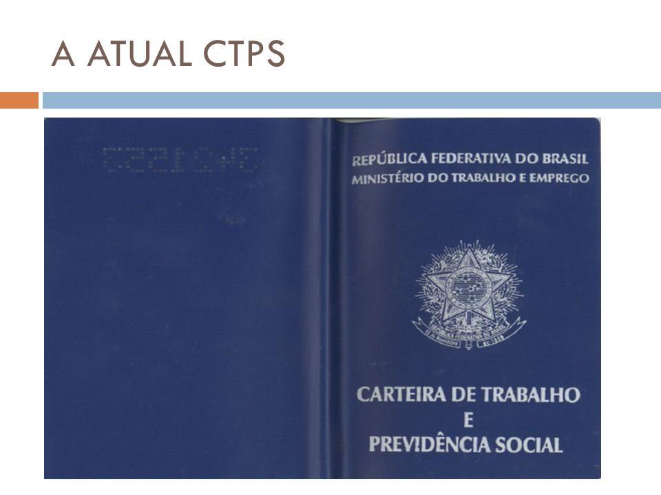 A ATUAL CTPS