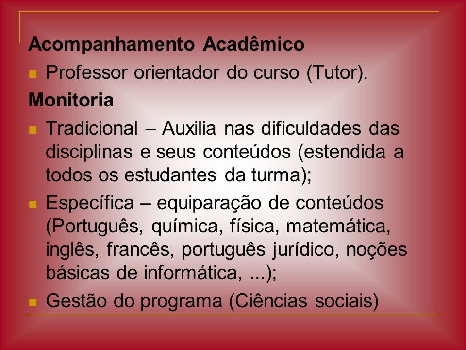 Acompanhamento Acadêmico