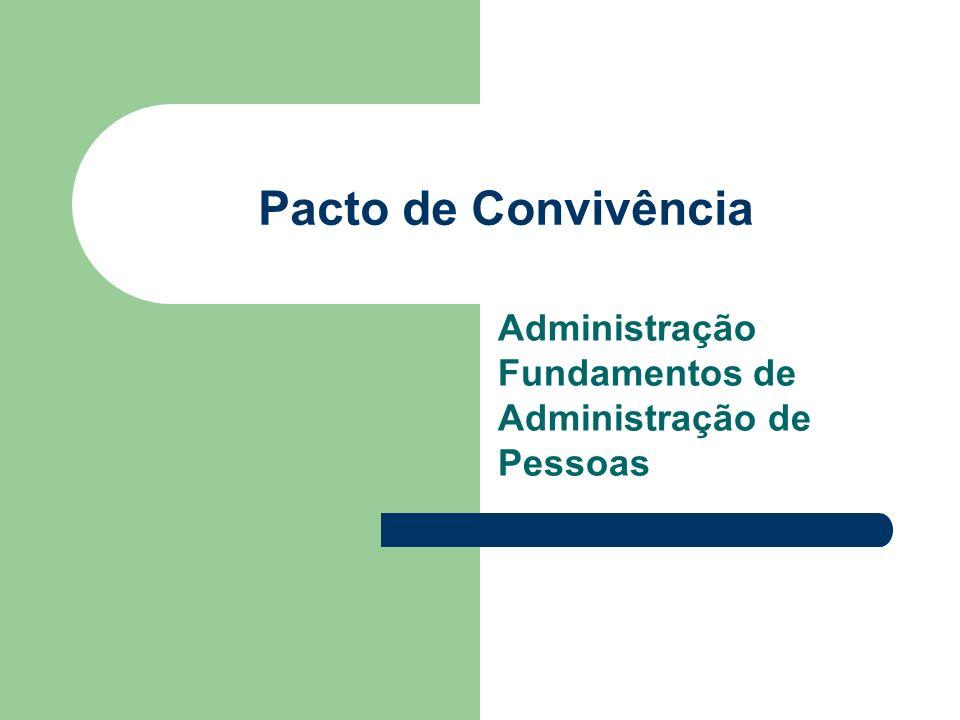Administração Fundamentos de Administração de Pessoas