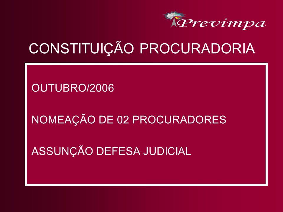 CONSTITUIÇÃO PROCURADORIA